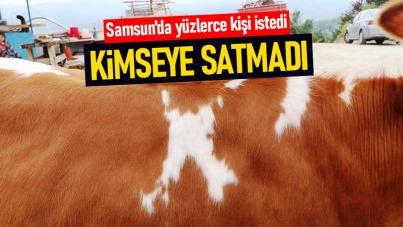 Samsun'da yüzlerce kişi istedi ama kimseye satmadı