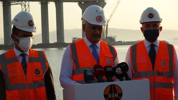 AK Parti Genel Başkanvekili Yıldırım: Önümüzdeki 18 Mart törenlerinde inşallah köprümüzden geçiş, resmi açılı