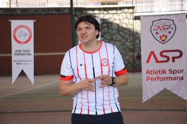 Aydında Türkiye Ayak Tenisi Federasyonu eğitim semineri düzenlendi