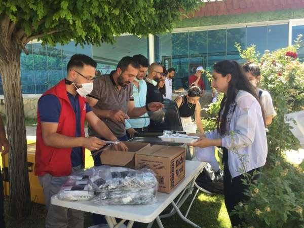 İpekyolu Gençlik Merkezi üniversite sınavına girecek gençlere moral etkinliği düzenlendi