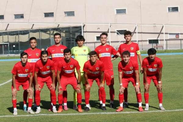Kayserispor U19 ligi 19 puanla tamamladı