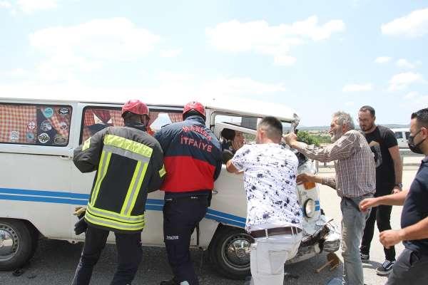 Kulada zincirleme kaza: 4 yaralı
