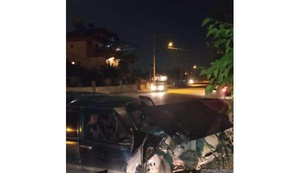 Malatyada trafik kazası: 1 yaralı
