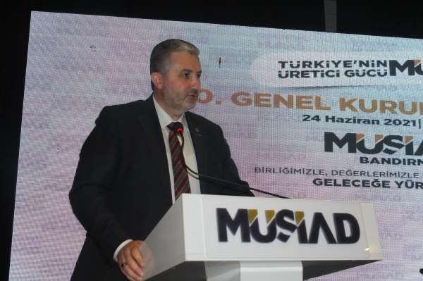 MÜSİAD Genel Başkanı Kaan: Yüzde 7lik büyüme oranı oldukça takdire şayan bir başarıdır