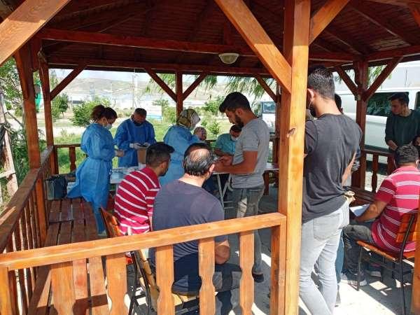 Suluova OSBde 600 işçi aşılandı