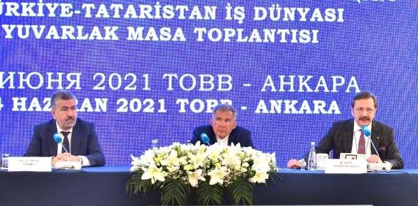 Tataristan ile olan ikili ilişkilerimiz, güçlü tarihi ve iktisadi geçmişe dayanıyor