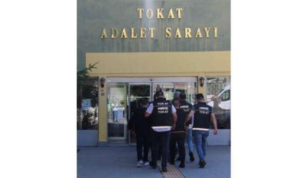Tokatta uyuşturucu operasyonu: 12 tutuklama
