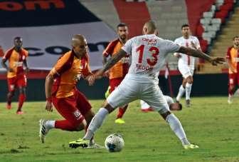 Süper Lig: Fraport TAV Antalyaspor: 2 - Galatasaray: 2 (Maç sonucu)