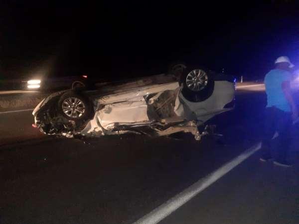 Erzincanda trafik kazası: 1 ölü, 5 yaralı