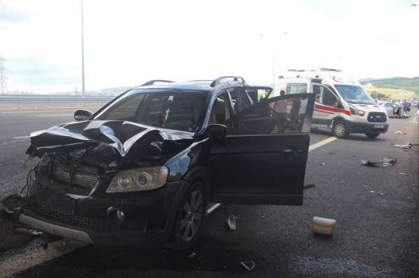 Kuzey Marmarada bayram dönüşü kaza: 1i çocuk 5 yaralı