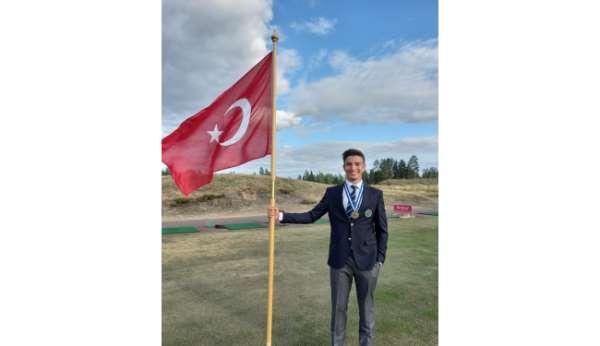 Milli golfçü Can Gürdenli, European Young Mastersdan bronz madalyayla döndü