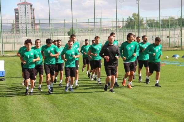 Sivas Belediyesporun 2. etap kampı devam ediyor