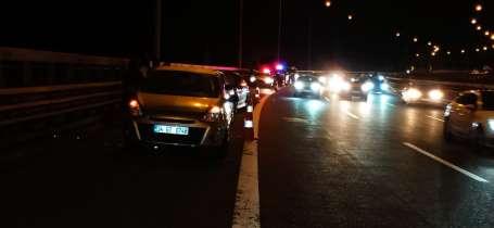 TEM Otoyolu Bolu Dağı'nda zincirleme kaza: 5 yaralı