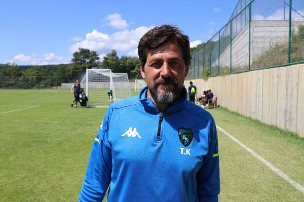 TFFnin yeni ekibi Kocaelisporun Bolu kampı devam ediyor