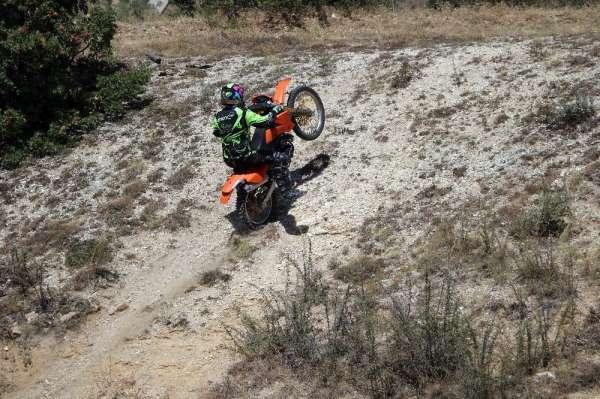 Adrenalin tutkunu motorcular Yozgat'ta buluştu