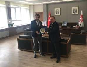 Rektör Tabakoğlu'ndan Ankara Hacı Bayram Veli Üniversitesine ziyaret