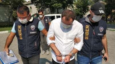 10 yıl hapis, 2 milyon lira da para cezası bulunan sanık, siber polisine yakalan