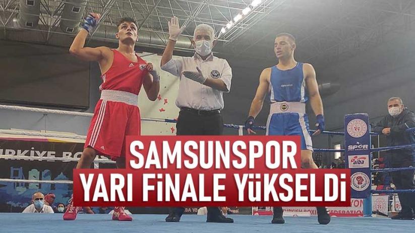 Samsunspor yarı finale yükseldi