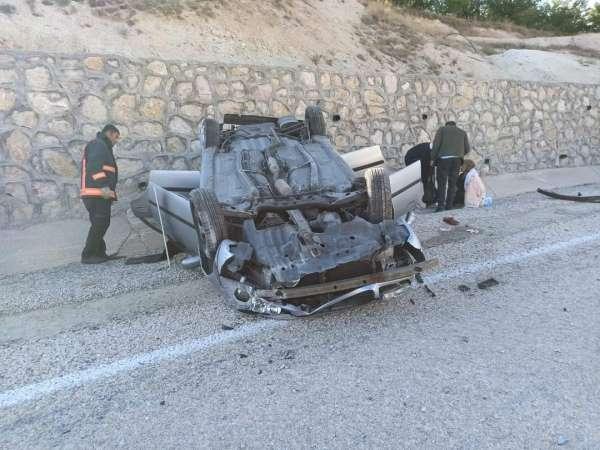 Malatyada trafik kazası: 3 yaralı