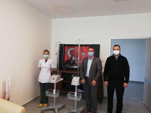 Boyabat TSO'dan pandemi hastanesine cihaz bağışı