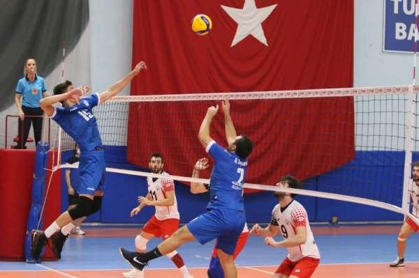 Erkekler Voleybol 1. Ligi: Kocaeli BŞB Kağıtspor: 3 - Melikgazi Belediyespor: 1