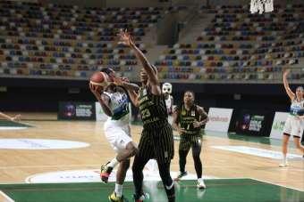 Kadınlar Basketbol Süper Ligi: İzmit Belediyespor: 64 - Çankaya Üniversitesi: 72