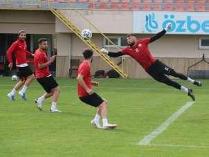 Sivas Belediyespor, Sakaryaspor maçı hazırlıklarına devam etti