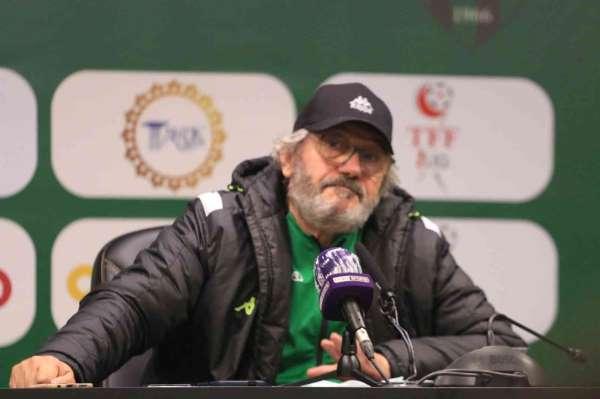 Kocaelispor-Gençlerbirliği maçının ardından