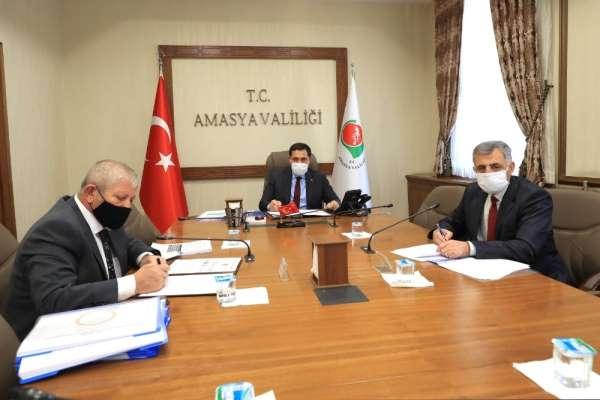 Amasya'da Yeşilırmak'ı cazibe merkezi yapacak proje için imzalar atıldı