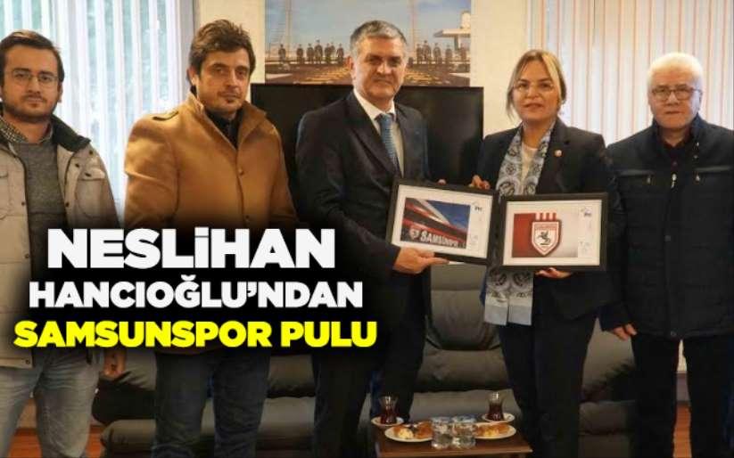 Neslihan Hancıoğlundan Samsunspora ziyaret
