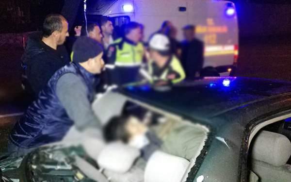 Samsun Haberleri: Samsun Atakum'da Kaza