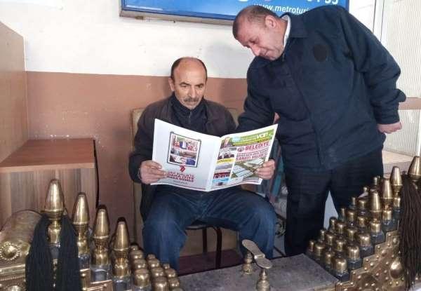 Bafra Belediye Bülteni okurlarıyla buluştu