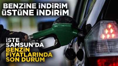 Benzine 4. indirim, Samsun'da akaryakıt fiyatlarında son durum