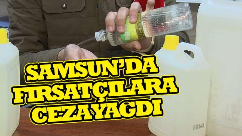 Samsun'da haksız fiyat artışı yapan işletmelere ceza yağdı