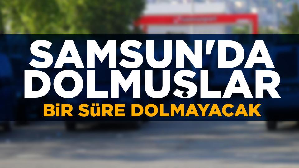 Samsun'da ulaşıma korona virüs kısıtlaması