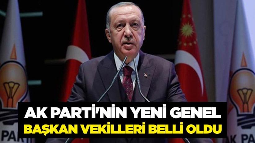 AK Partinin Yeni Genel Başkan Vekilleri belli oldu
