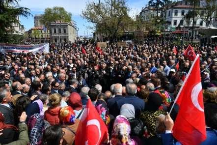 İçişleri Bakanı Süleyman Soylu'ya memleketi Trabzon'dan destek