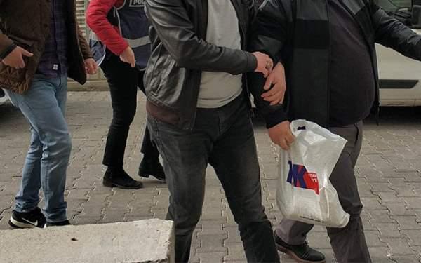 Samsun'da 10 kişi gözaltında