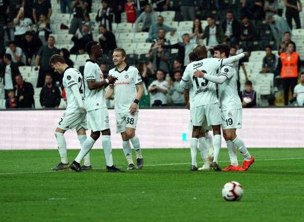 Beşiktaş ligi 3 sırada tamamladı