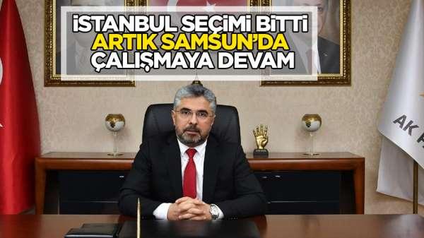 Aksu: 'AK Parti birliğin, beraberliğin ve kardeşliğin partisidir'