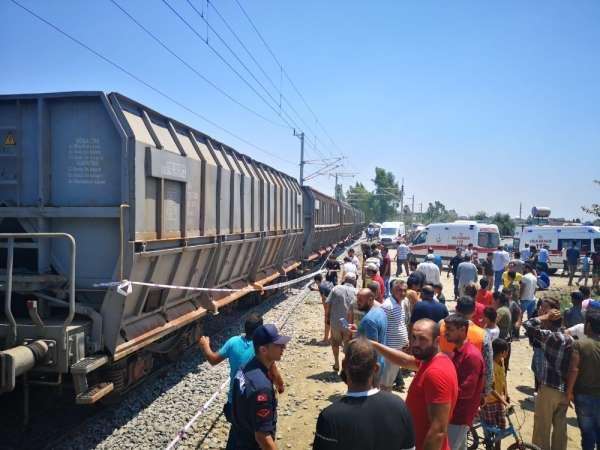 Tren kazası: 1 ölü, 4 yaralı