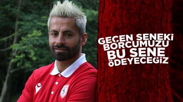 Samsunspor'un keçecisi Ahmet Altın'dan flaş açıklamalar