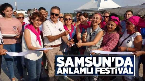 Samsun'da anlamlı festival