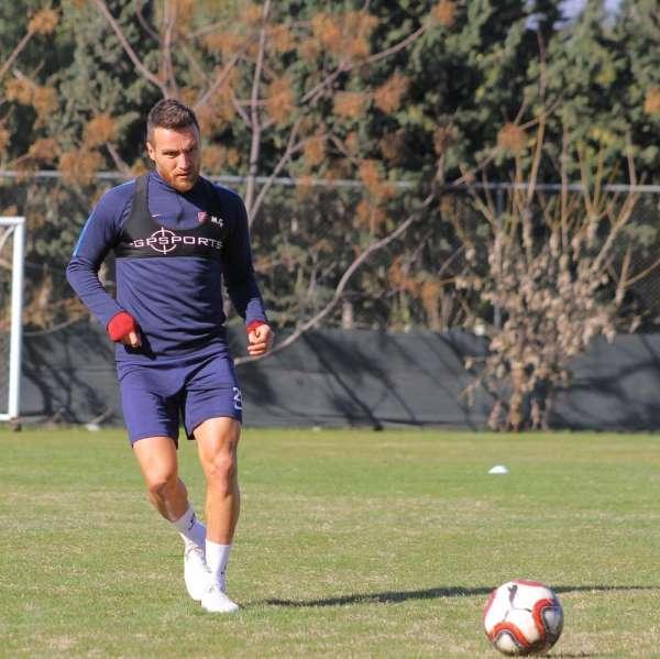 Hatayspor, Menemenspor maçı hazırlıklarını tamamladı