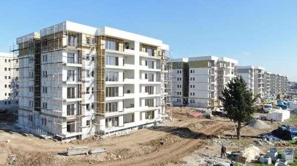Özel Mersin'de hayal gerçek oldu: 416 konutun kaba inşaatı 6 ayda tamamlandı