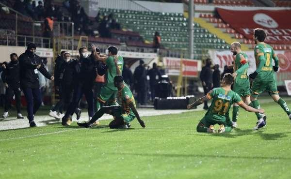 Süper Lig: Aytemiz Alanyaspor: 4 - MKE Ankaragücü: 3 Maç sonucu