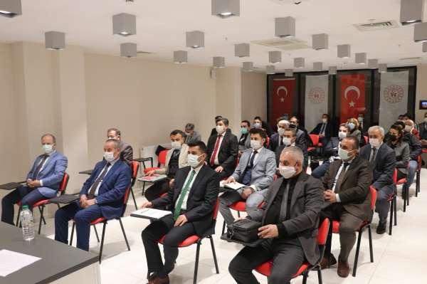 Gençlik ve Spor İl Müdürlüğü'nde değerlendirme toplantısı yapıldı