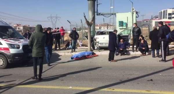Okul müdürünün hayatını kaybettiği kaza kamerada