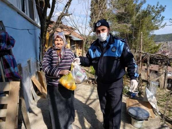 Boyabat Belediyesi ekipleri yaşlılara yardım elini uzattı