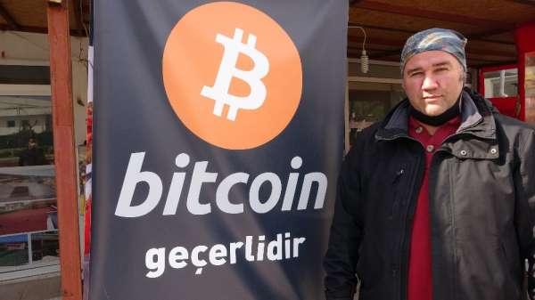 Çanakkalede bitcoin ile kumpir satışı başladı